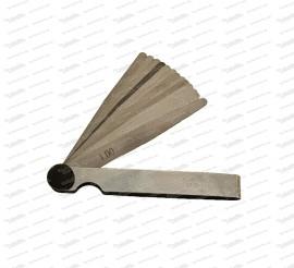 Fühlerlehre 13 Blatt, 0,05mm - 1,00mm