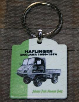 Steyr-Puch Haflinger key ring