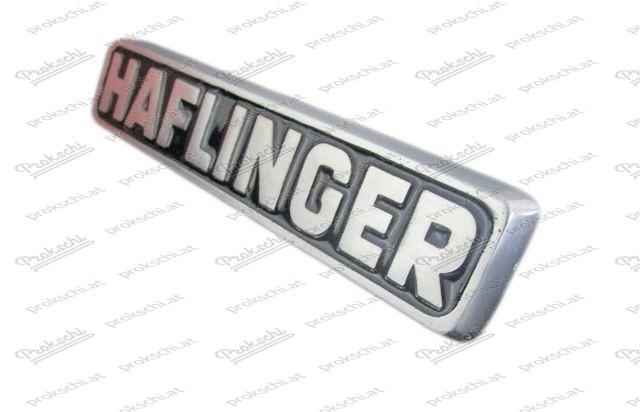 Frontzeichen: HAFLINGER