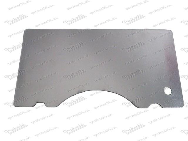 Isolierplatte m. Reflex-Folie (Hitzeschutz) für Motorhaube Fiat