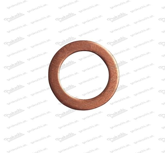 Kupferscheibe für Hohlschraube bei Radbremszylinder (Fiat)