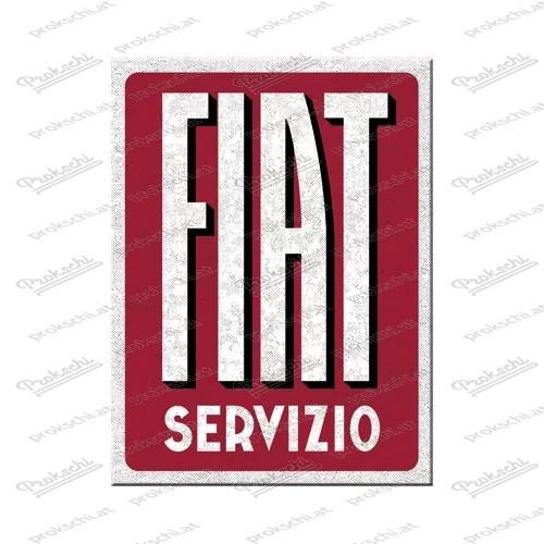 Fiat Servizio - Kühlschrankmagnet