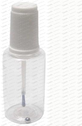 Pinselflasche - Polizeiweiss 50ml