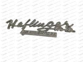 Schriftzug Haflinger 700 AP 4-wheel drive