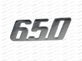 Schriftzug: 650