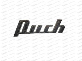 Schriftzug: PUCH