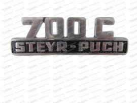 Steyr Puch 700 Schriftzug