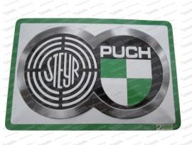 Steyr Puch Logo Blechschild