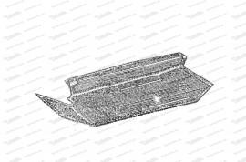 Gummimatte für gerade Bodenplatte, rechts
