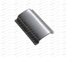 Verbindungsstück für Chromleiste, Aluminium Fiat 500-850