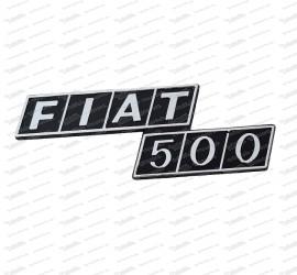 Heckemblem Fiat 500 F/R (Kunststoff)