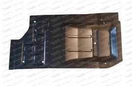 Bodenplatte rechts, 500 F/L/R/S/126