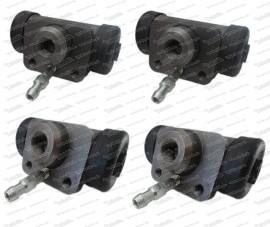 Puch Radbremszylinderset  2x15,87 / 2x 17,46mm