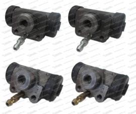 Puch Radbremszylinderset 2x15,87 / 2x 19,05mm (501.1.3607.0/700.1.36.012.0)