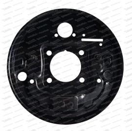 Bremsträgerplatte hinten links, 98er Lochkreis 2. Serie Fiat