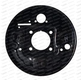 Bremsträgerplatte hinten rechts, 98er Lochkreis 2. Serie Fiat