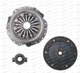Kupplungssatz, Drucklager - Druckplatte - Kupplungsscheibe 126 / 500R