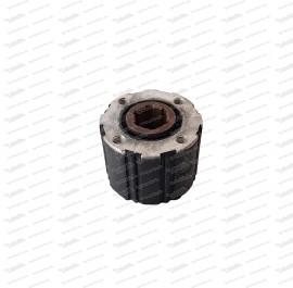 Rückdämpfer Fiat 500 D (6 Zähne)