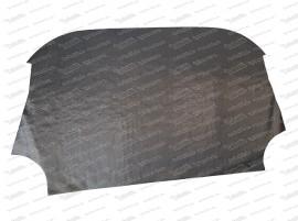 Isoliermatte unter Rücksitzlehne zum Motorraum