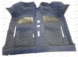 Formteppich blau 500/126