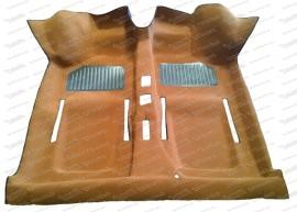 Formteppich ocker 500/126