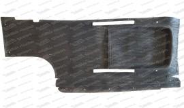Gummimatte für Bodenplatte links, Combi