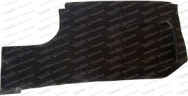 Gummimatte für Bodenplatte, rechts