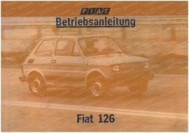 Betriebsanleitung, Fiat 126p 4