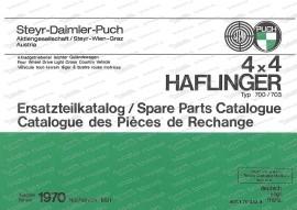 Ersatzteilkatalog 4x4 Haflinger