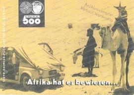 Puch 500 - Afrika hat es bewiesen