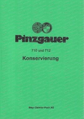 Steyr Puch Pinzgauer 710 M, 712 M, 710 K, 712 K, Konservierungspläne zur Nachkonservierung von Spalten und Hohlräumen