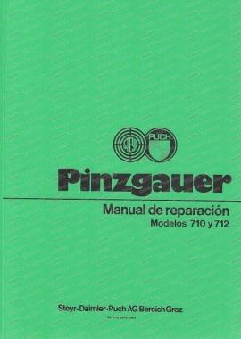 Puch Pinzgauer 710 y 712, 4x4 - 6x6 Manual de reparación (Spanisch)