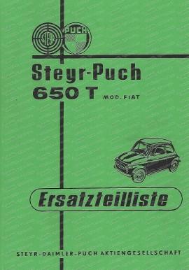 Ersatzteilkatalog Puch 650