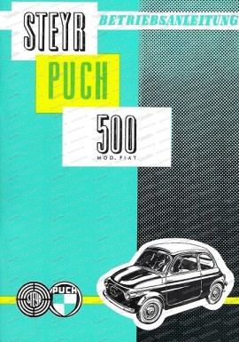 Betriebsanleitung Puch 500 (Altes Modell)