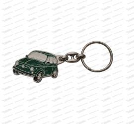 Schlüsselanhänger Fiat 500 grün