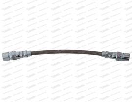 Stahlflex hinten, langer Nippel (Gewinde M10 x 1,25)