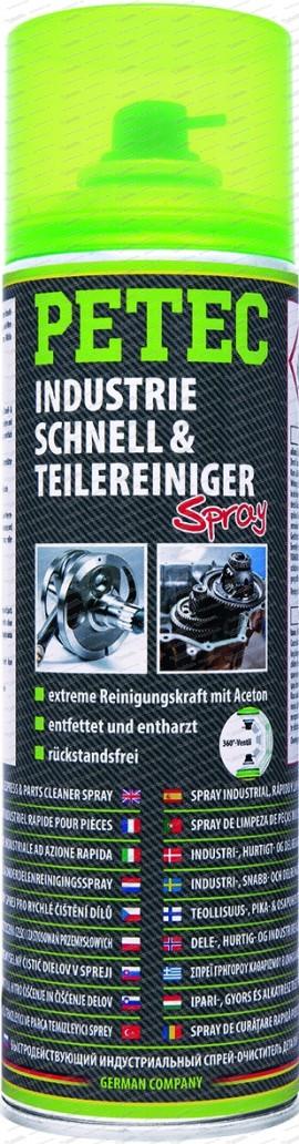 Industrie-, Schnell- & Teilereiniger 500 ml Spray