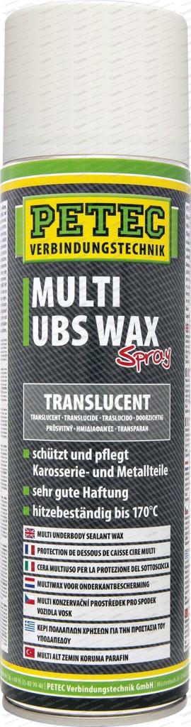Multi UBS Wax - translucent - 500 ml Spray