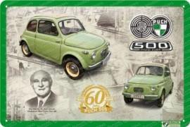 Puch 500 - 60 Jahre Jubiläum - Metallschild