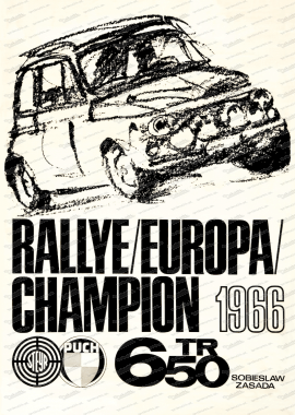 Steyr Puch 650 TR Poster, 70x50cm
