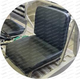 Rivestimento Haflinger per il sedile anteriore in nero