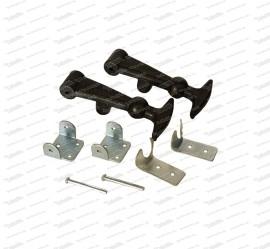 Halterungsset für Kofferraumhaube (123mm) Typ Abarth
