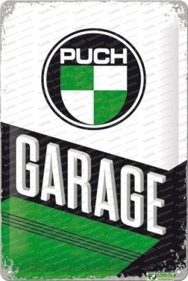 Puch Garage – Metallschild