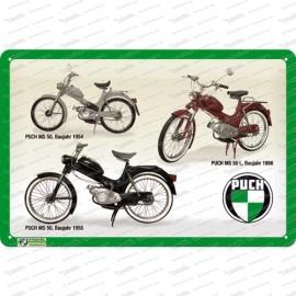 Puch MS 50 – Stangl-Puch – Metallschild – 20x30cm