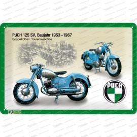 Puch 125 SV – Metallschild – 20x30cm