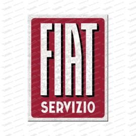 Fiat Servizio - aimant de réfrigérateur